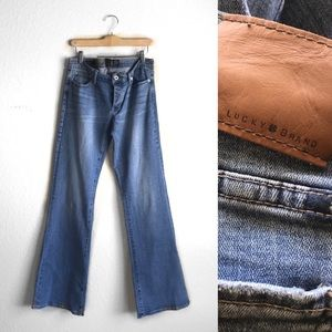 LUCKY BRAND Lil Maggie low rise flare jeans